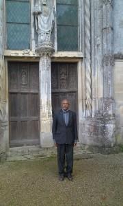Frère John Martin à Ligugé 12 novmbre 2014